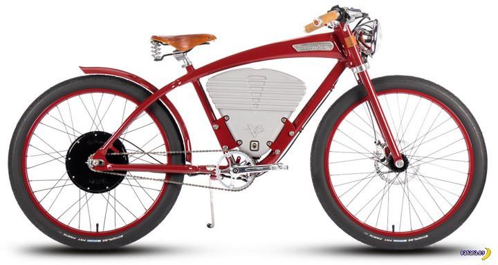 Новый электрический велосипед