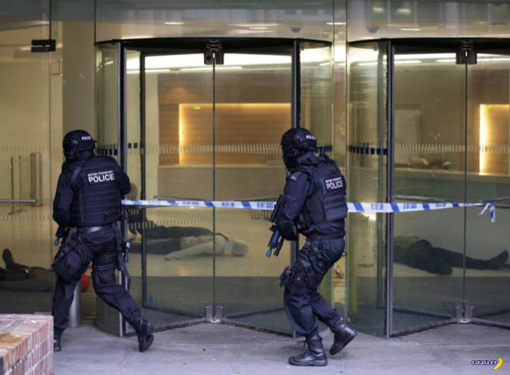Атака террористов в Лондоне