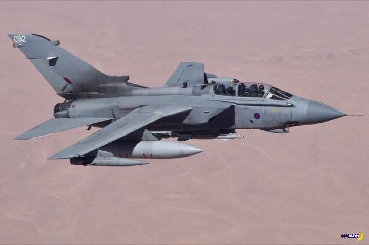 RAF набросился на ISIS
