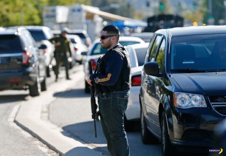 Расстрелы в Калифорнии