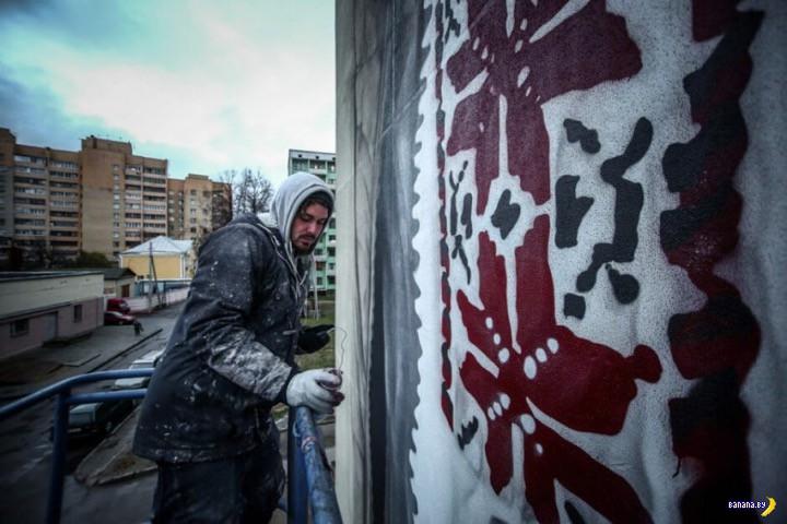 Про традиционные орнаменты и стрит-арт