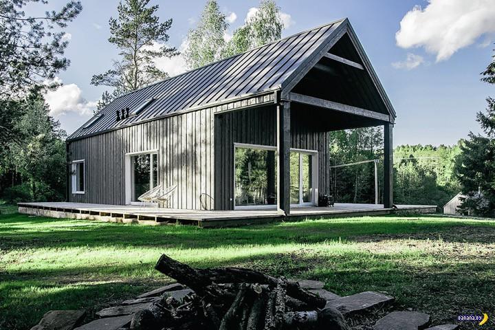 Литовский охотничий домик