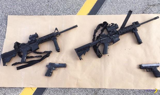 Пикантные подробности про калифорнийских стрелков
