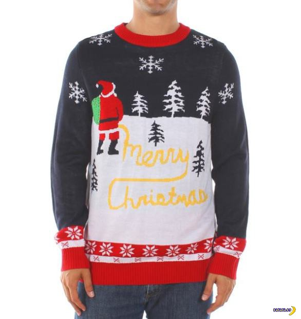 Самые уродливые рождественские свитера