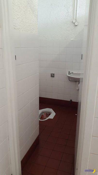 Сюрприз в туалете