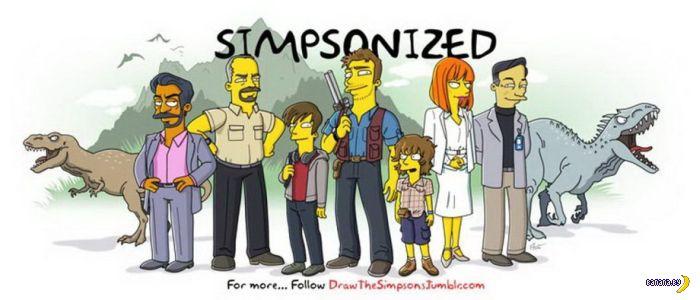 Симпсонизация