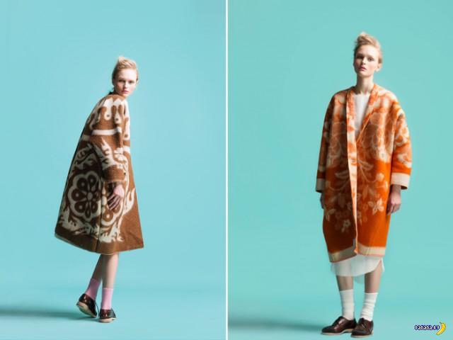 Отличный бизнес: дорогие пальто из старых одеял