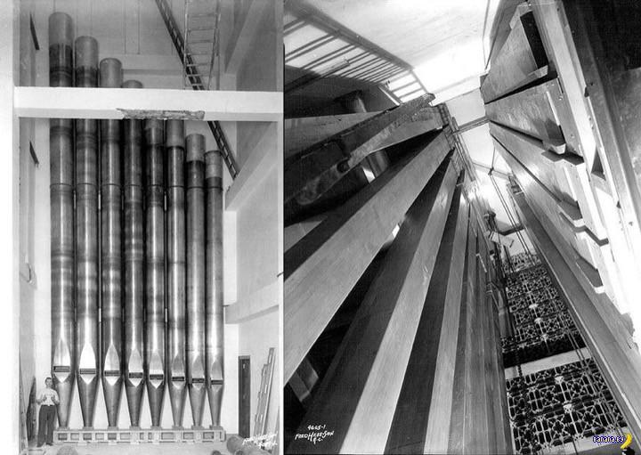 Немного про самый большой в мире орган
