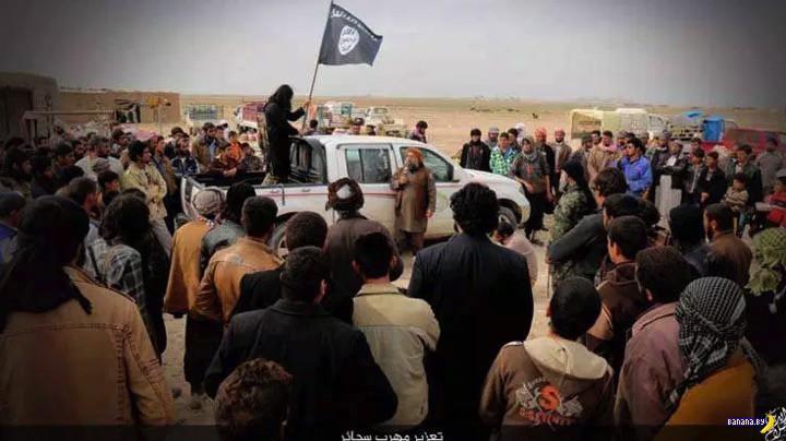 Как в ИГИЛ наказывают контрабандистов сигарет