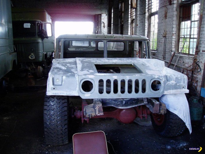 Как сделать Hummer из Шишиги?