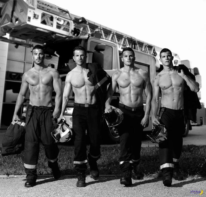 Подозрительный календарь с французскими пожарными
