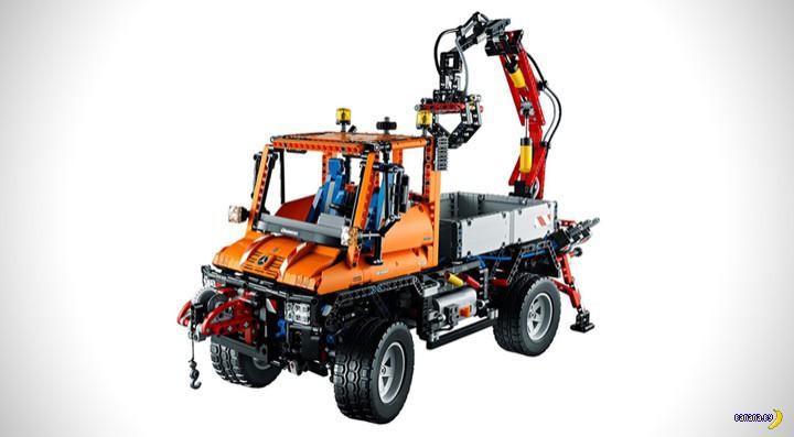 Mercedes-Benz Unimog U400 из LEGO