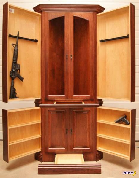 Домашние тайники с оружием