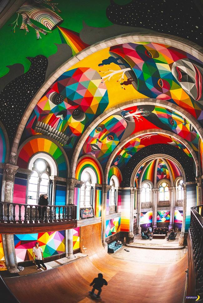 Невероятное преобразование церкви