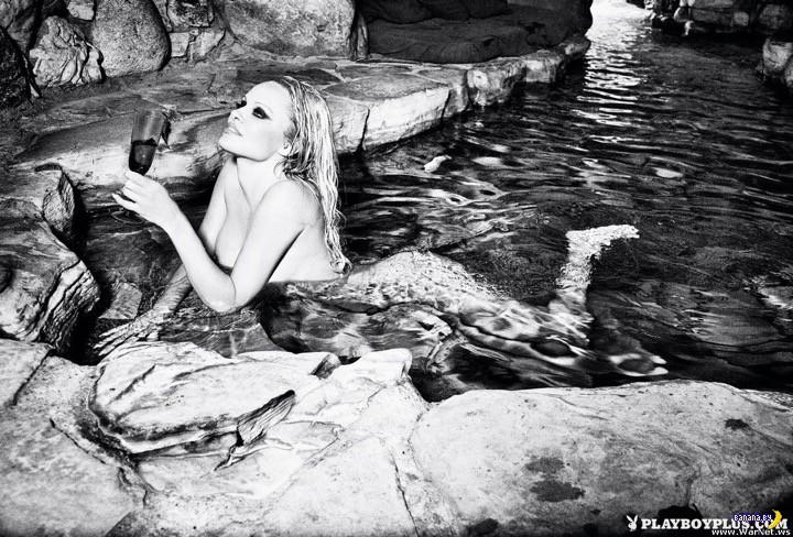 Полная версия последних голых съемок для Playboy с Памелой