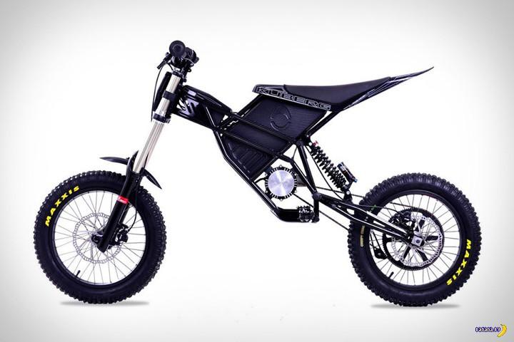 Электрический мотоцикл Kuberg Freerider