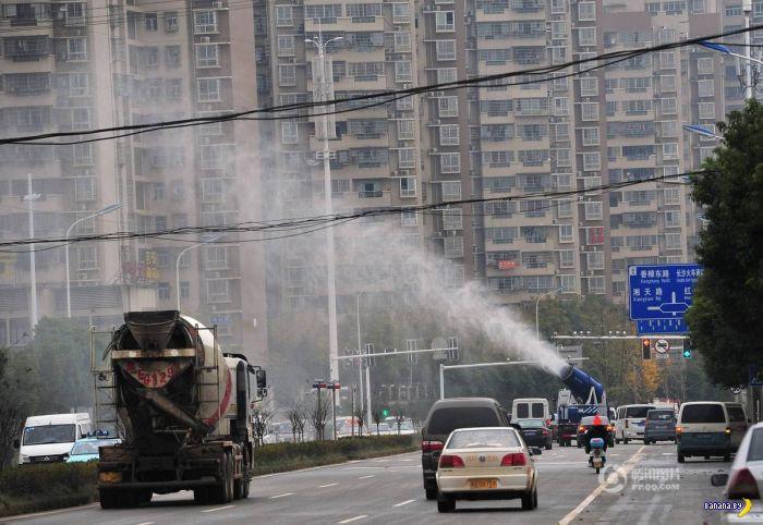 Китай начал активно бороться со смогом
