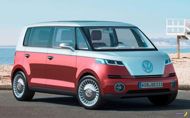Электробусик от VW