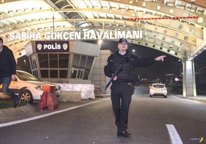 Стамбул: взрыв в аэропорту