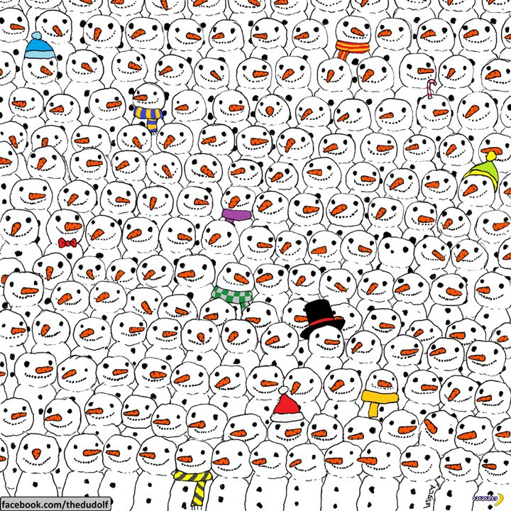 Помогите найти панду!