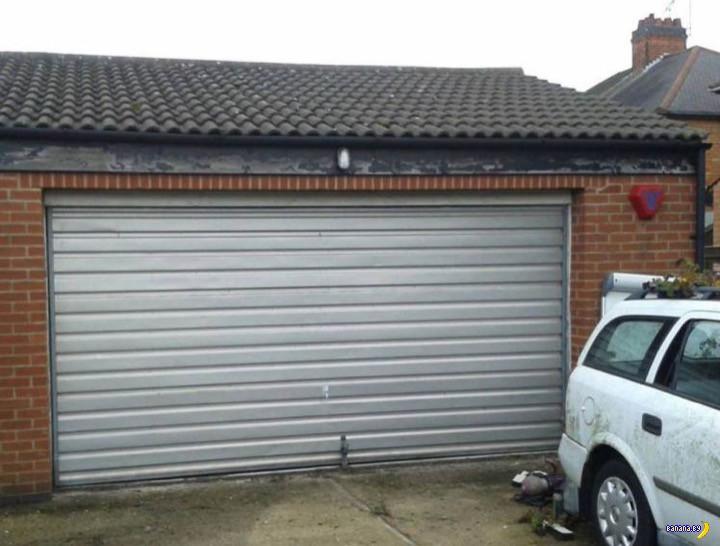 Жадный хозяин сдавал гараж под жилье