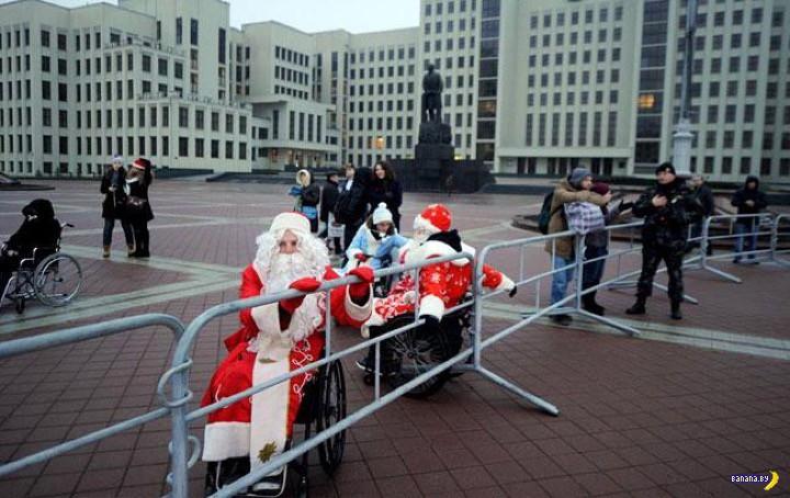 Странная ситуация с Дедами Морозами