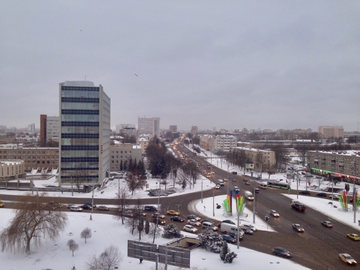 Погода: белорусам дали снег!