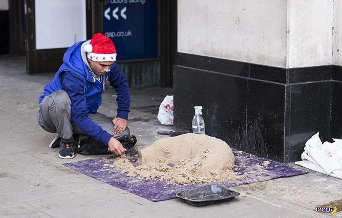 Как заработать при помощи мешка песка и бутылки воды?