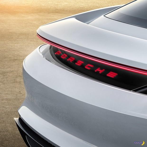 Концепт Mission E от Porsche