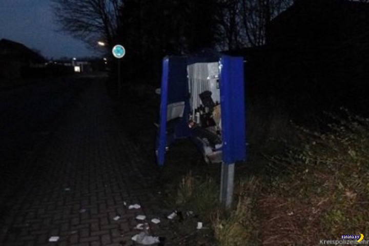 Торговый автомат убил человека