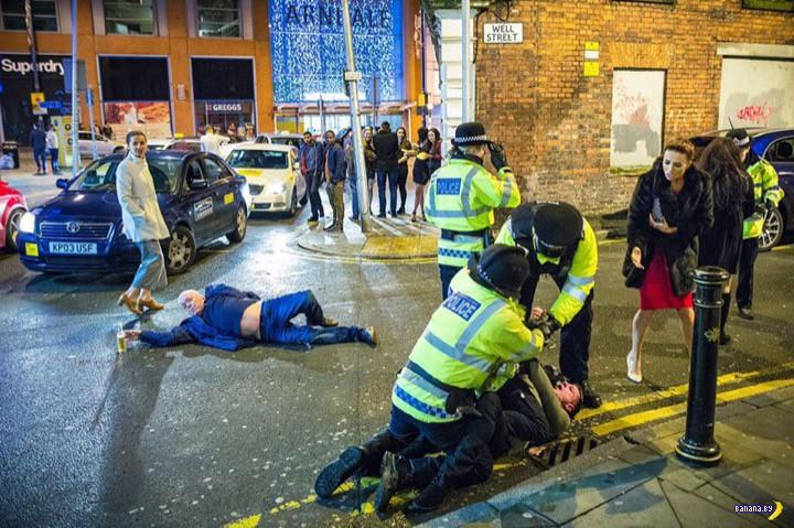 Пьянчуга из Манчестера стал звездой мемов