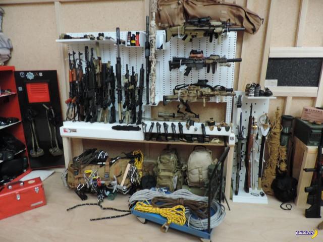 База армейского спецназа Армии США