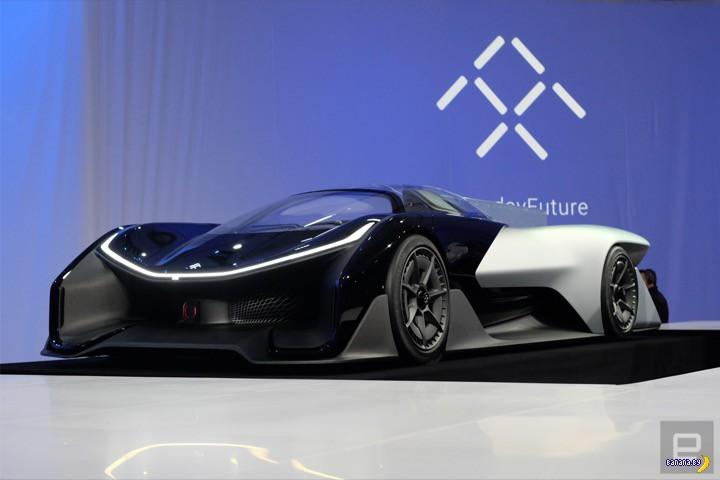 �������������� FFZero 1 �� Faraday Future
