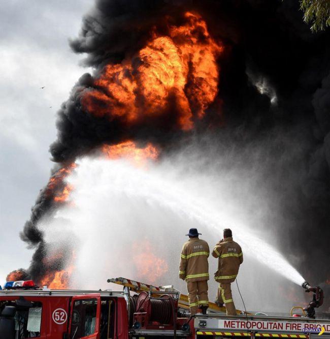 Покрышки и пожар