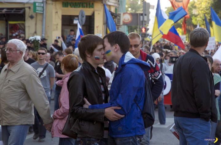 Новость для геев из России