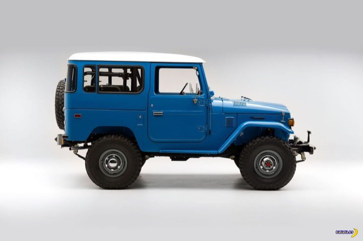 Carporn: 1978 Toyota FJ40 Land Cruiser