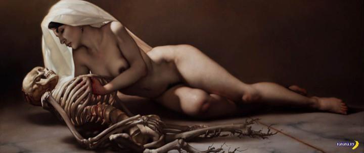 Мрачная живопись Роберто Ферри
