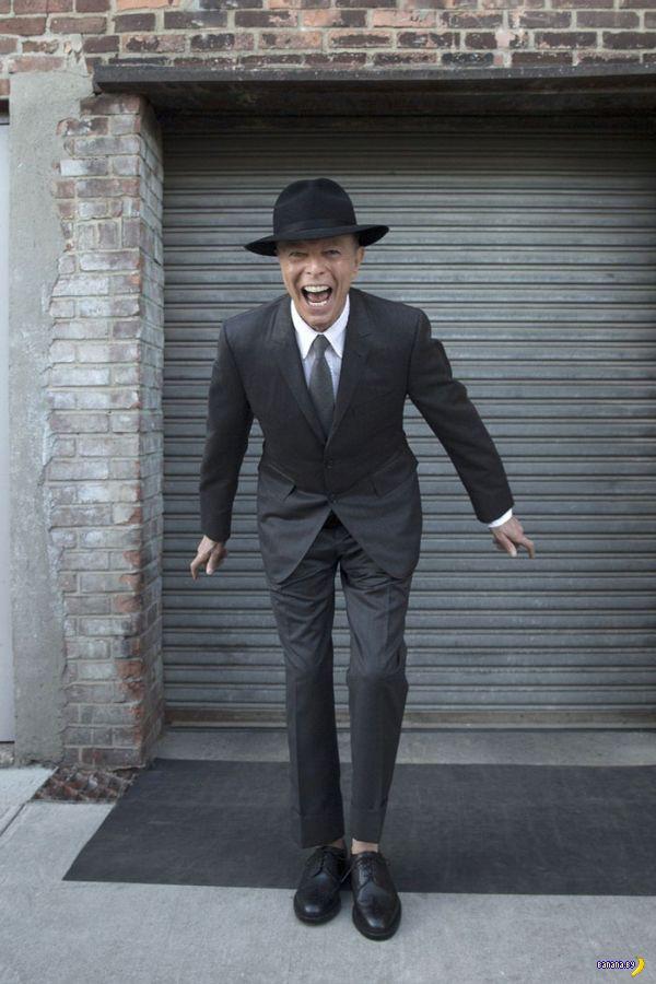 Последние фотографии Дэвида Боуи