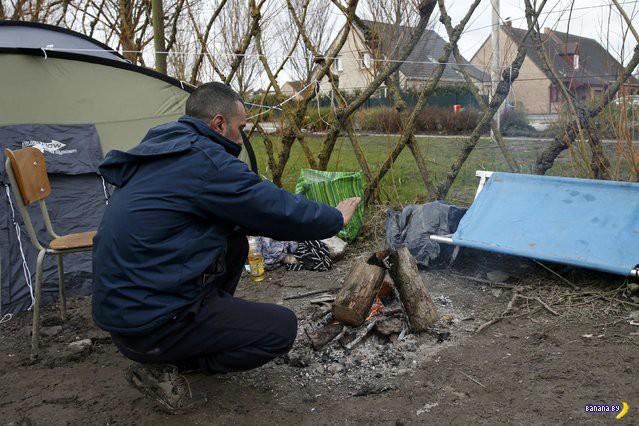 Репортаж из лагеря беженцев Grande-Synthe