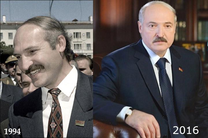 Лукашенко заметно постарел