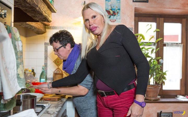 Как женатый итальянец в трансы подался