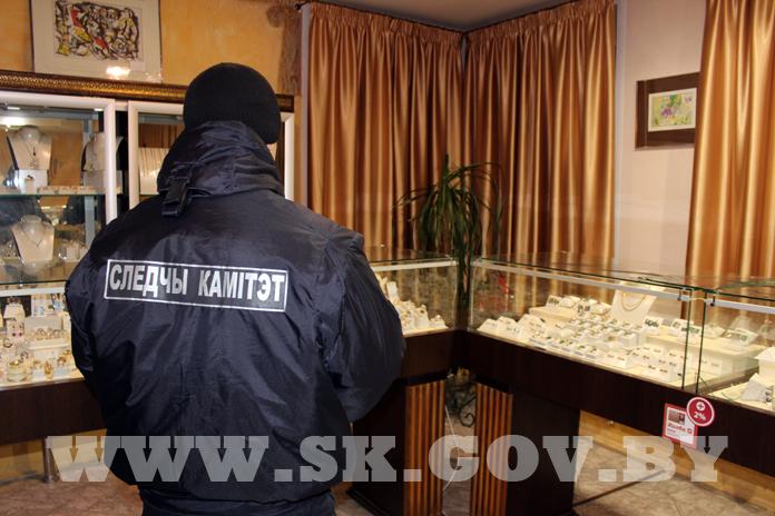 Дерзкое ограбление ювелироного салона в Минске