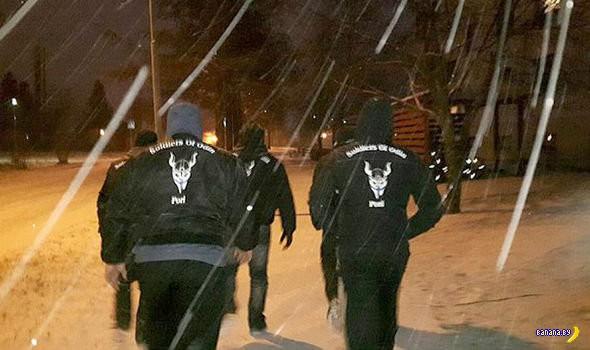 """""""Воины Одина"""" против беженцев в Европе"""