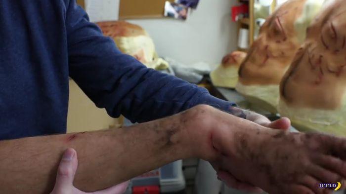 """Раны Ди Каприо в """"Выжившем"""""""