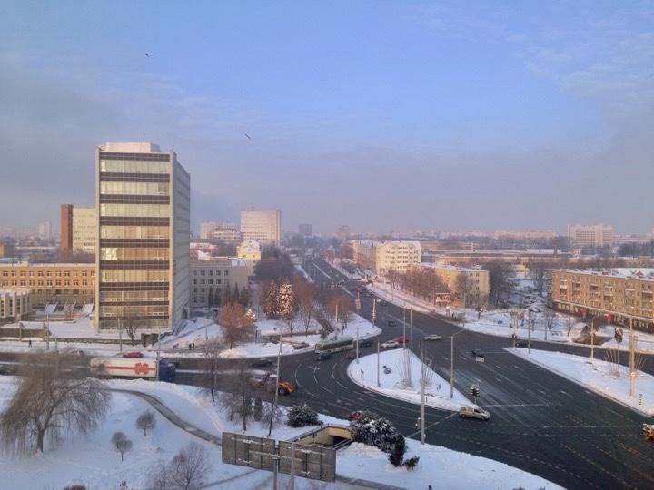Погода: мороз и солнце!