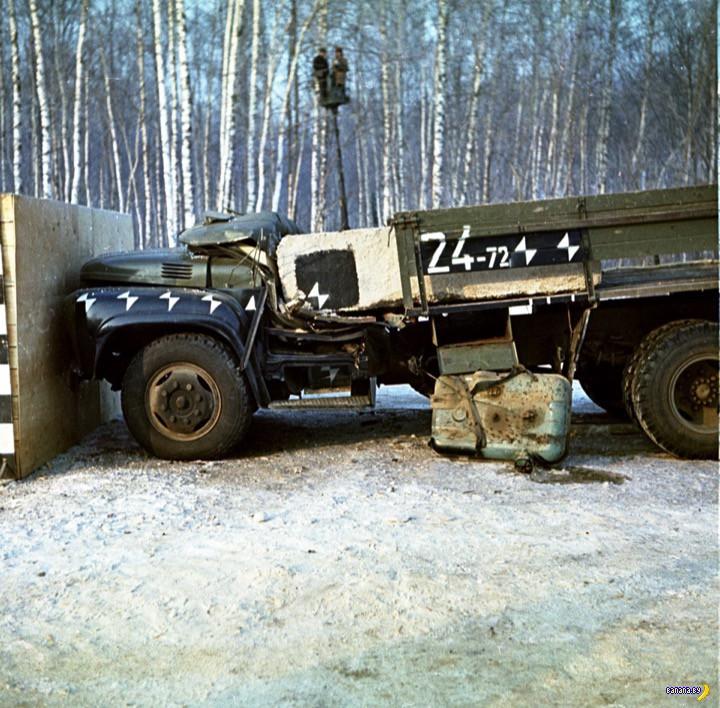 Советские краш-тесты ЗИЛ-130