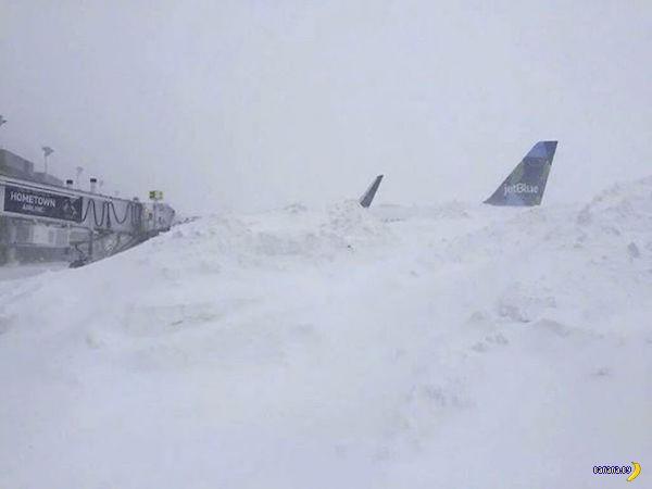 Америка и снежный шторм Джонас
