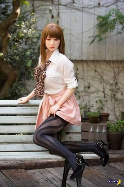 Новейшее поколение японских кукол для секса