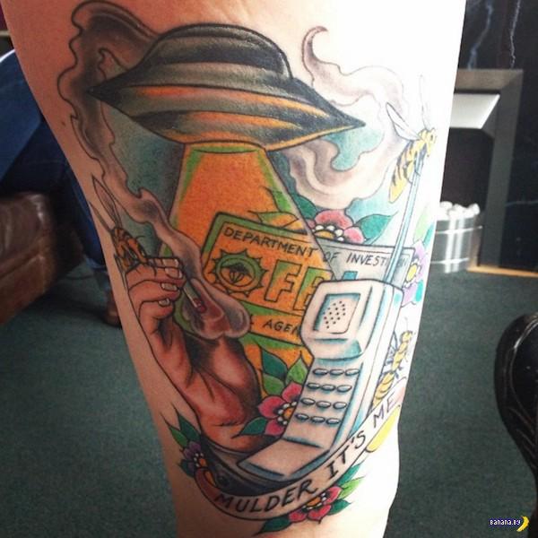 Татуировки на зависть - 63 - Секретные материалы