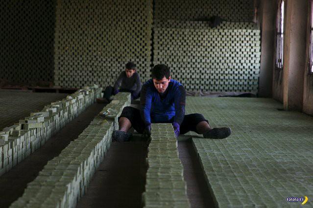 Фабрика по производству мыла в Сирии